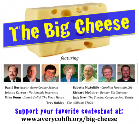 "Who will be crowned ""The Big Cheese"" of Avery County?"